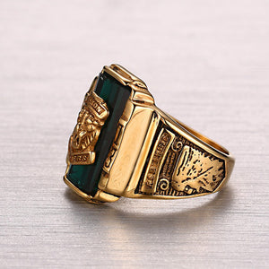 Lion Male Ring- Gold
