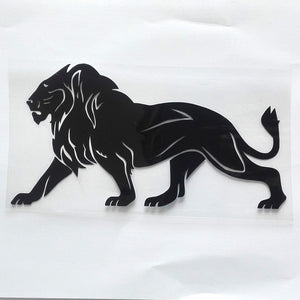 Lion of Judah Reflective Vinyl Car Styling Decal Stickers