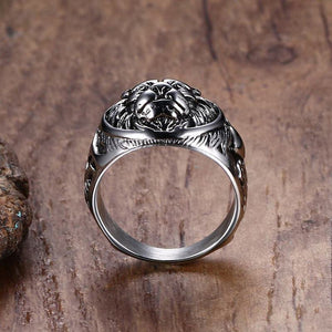 Men's Lion of Judah Ring | Lion Head Ring II