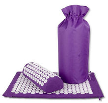 Massage Cushion Acupressure Mat Relieve Stress Pain | Acupuncture Spike Yoga Mat with Pillow