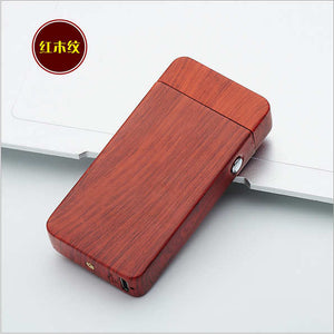 Plasma Arc USB Rechargeable Electric Lighter - Brick Red