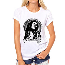 Reggae Star T-Shirt for Women | 3D Print Rasta Tees