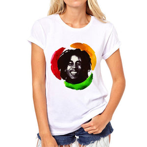 Roots Rock Reggae T-Shirt | 3D Rasta Tees -Women
