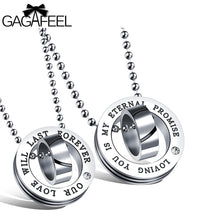 GAGAFEEL Pendant Necklace Women Man Jewelry Couple Pendants For Lovers