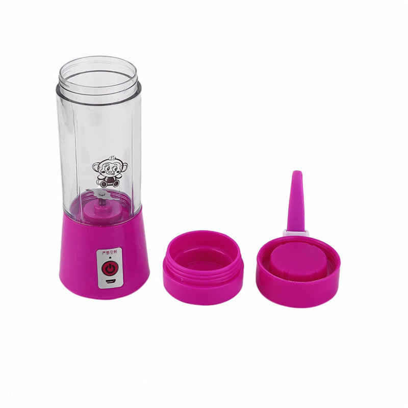 Mini Usb Rechargeable Smoothie Blender Handheld Electric Fruit
