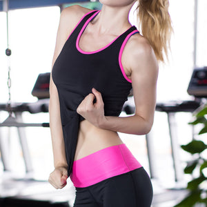 Yuerlian Fitness Yoga Quick Dry Sleeveless Sportswear Blouse | Running Vest Workout Crop Top Female T-Shirt
