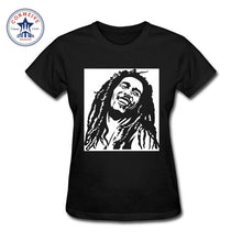 Bob Marley Rasta Cotton T-Shirts -Women