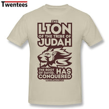 Lion of Judah T-Shirt for Men | Summer Short Sleeve T Shirt