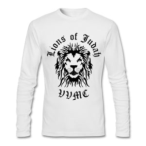 Lion Of Judah Full Sleeve T-Shirt | Rasta Broadcloth Tees
