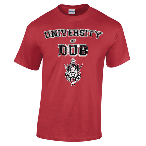 University Of Dub Music Sound System Jamaica Lioness Reggae T-Shirt