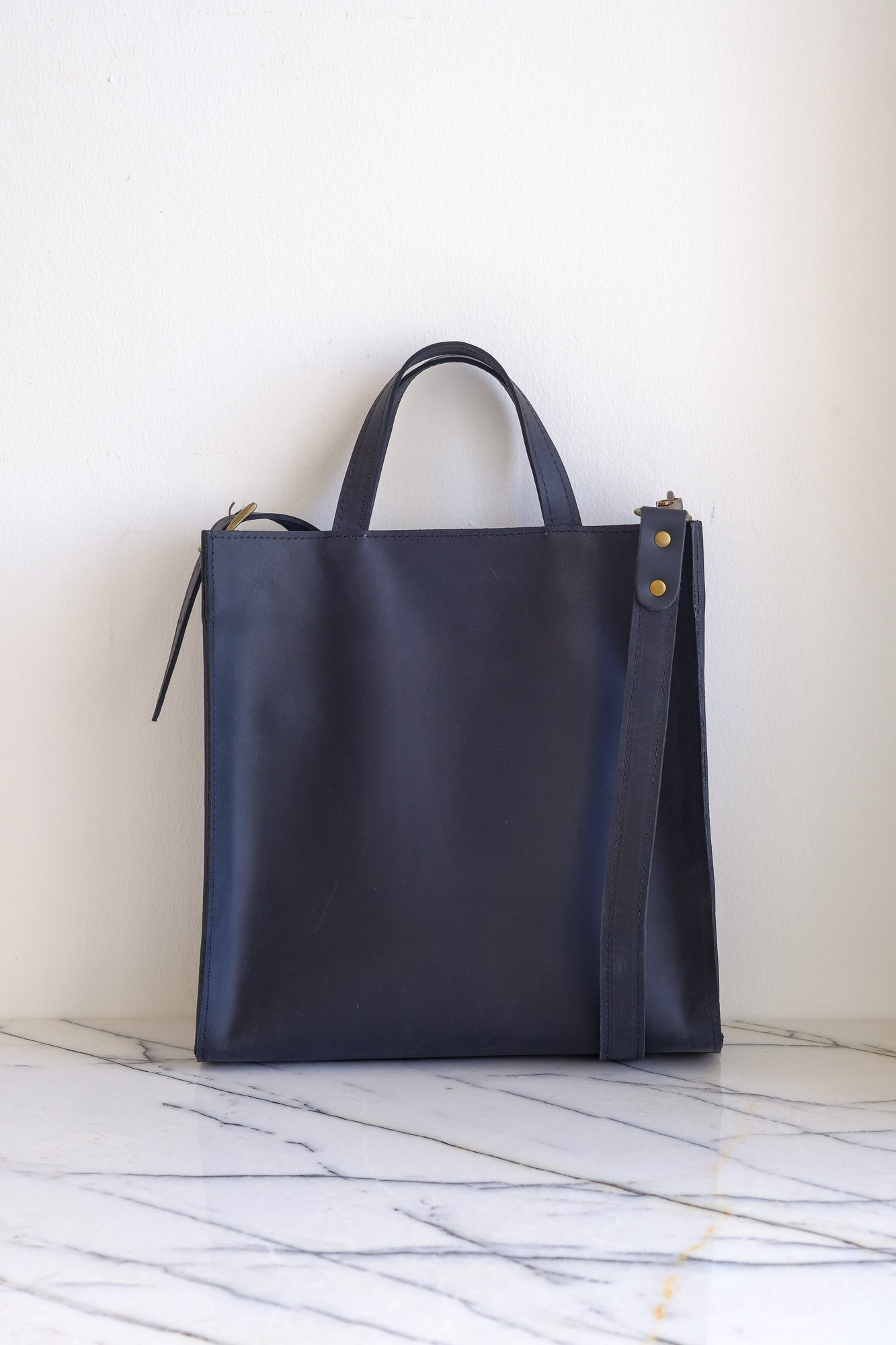 Fermuarlı Tote Bag Small