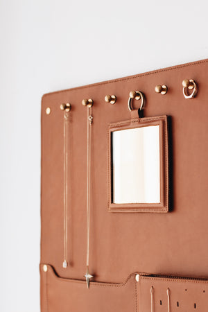 ACCESS Leather Wall Organizer