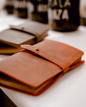 Leather Notebook A6