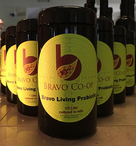 Bravo Prepared 1/2 Liter Jar of GcMAF Yogurt