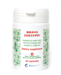 Bravo Edestiny - 30 Capsules - (Best before 8/2021)