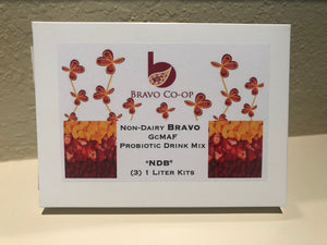 Non-Dairy Bravo 3 pack, makes 3 Liters of non dairy juice