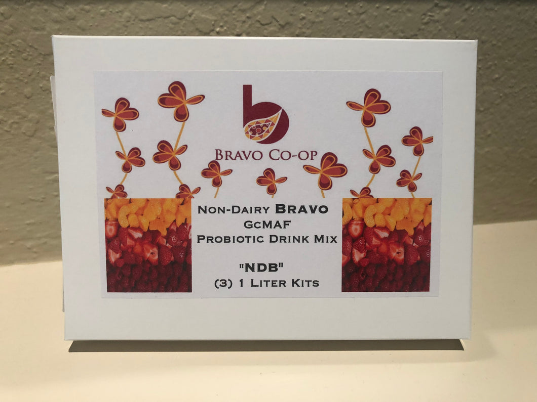 Stock Order Non Dairy Bravo Powder 3 pack -  (Best before 10/2021) - Order by 4/25/21 Ships 4/28/21