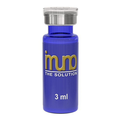 imuno the solution 3 ml vial for deep tissue congestion relief