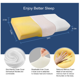 Perfect Shaped Cervical Orthopedic Billow Pillow - AwakenZone