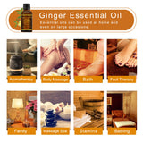 Plant Therapy Lymphatic Drainage Ginger Oil ® - AwakenZone