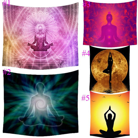 Indian Meditation Multipurpose Towel - AwakenZone
