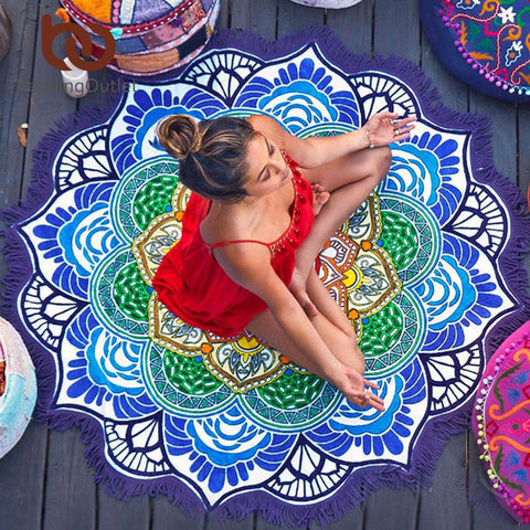 Multi Purpose Mandala Towel - AwakenZone
