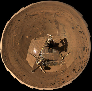 Mars Exploration Rovers Spirit & Opportunity Land On Mars