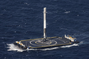 SpaceX Falcon 9 Performs It's First Successful Droneship Landing