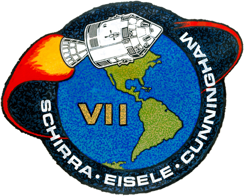 The official emblem of Apollo 7