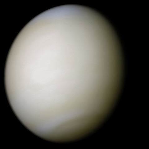 mariner 10 photo of venus real color