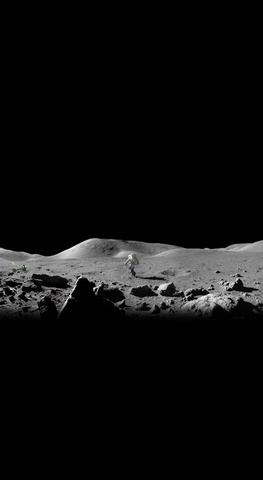 moon_landscape_astronaut_phone_wallpaper