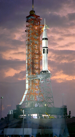 saturn_ib_dawn_launching_platform_phone_wallpaper
