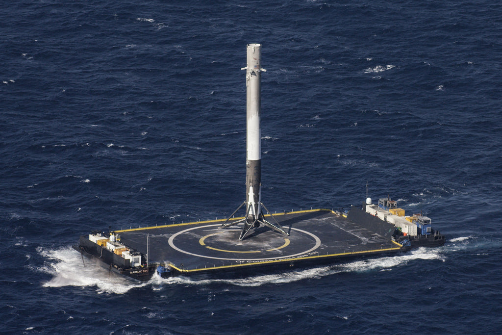 spacex falcon 9 first droneship landing