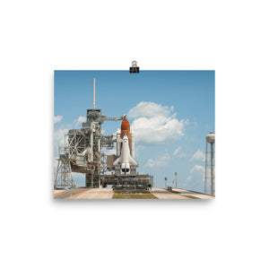 Space Shuttle Endeavour STS-134 Poster