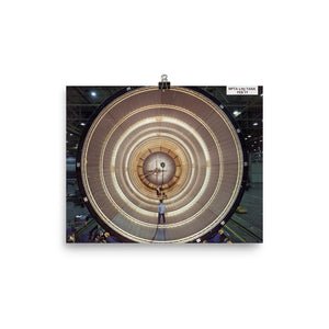 Inside Space Shuttle External Tank  Poster