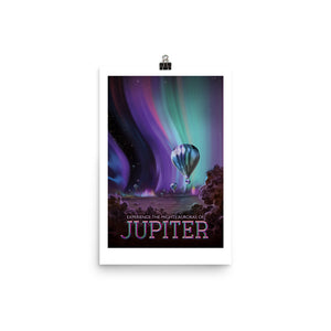 NASA Jupiter Retro Poster