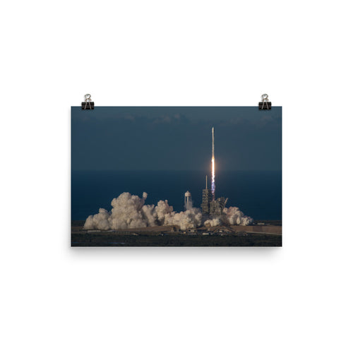SpaceX Inmarsat-5 Launch Poster