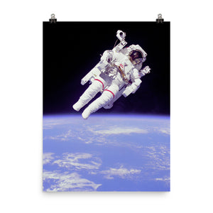 Spacewalk April 1983 Poster