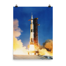 Apollo 11 liftoff Poster