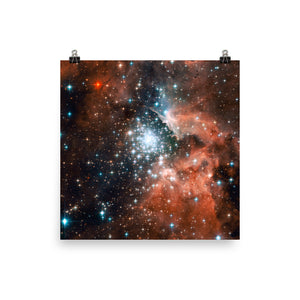Star-forming Cluster NGC 3603 Poster