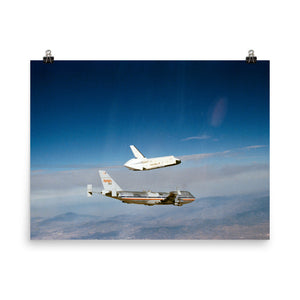 "OV-101 ""Enterprise"" Free Flight Poster"