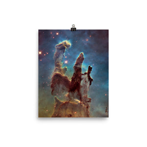 Hubble Pillars of Creation Poster