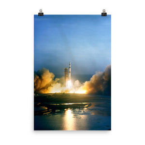 Apollo 8 Launch Poster