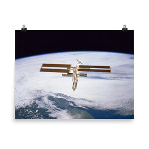 International Space Station - February 2001 Poster