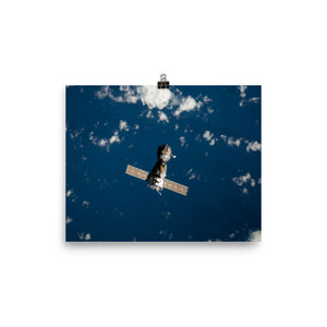 Soyuz TMA-18 departs the ISS Poster