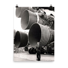 Saturn V F-1 Engines poster