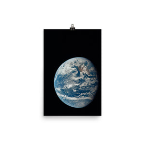 View of Earth from Apollo 11 Poster
