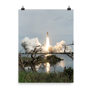 Space Shuttle STS-69 Launch Poster
