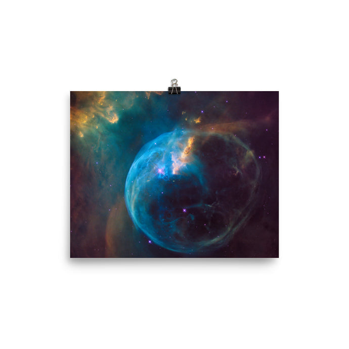 The Bubble Nebula Poster