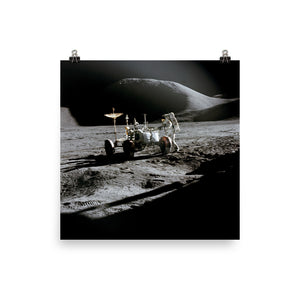 Lunar Rover Vehicle Poster